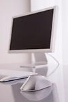 Desktop PC on desk