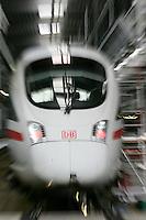 Besuch im ICE-Werk Leipzig..Im Bild: ICE Dynamik. Foto: Jan Kaefer / aif