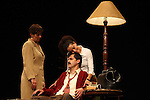 Actress Liliana Guido, Sergio Lopez and Sandra Galeano perform the play An Enemy of the People by Henrik Ibsen at the Teatto El Galeon, July 28, 2008.  The play is directed by Raquel Seoane. The theater company Contigo... America started its work on 1981 in Mexico. Photo by Heriberto Rodriguez