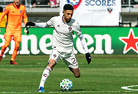 WASHINGTON, DC - FEBRUARY 29: Younes Namli #21 of the Colorado Rapids on the move during a game between Colorado Rapids and D.C. United at Audi Field on February 29, 2020 in Washington, DC.