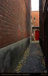 Street Scene: Stoofstraat Stove Street, Bruges, Brugge, Belgium