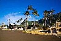 Historic Hansen's Disease settlement on north coast of Molokai, Hawaii