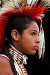 Every year on the 3rd weekend in August, the Crow (Apsáalooke) Nation holds a powwwow at Crow Agency, Montana.Native Americans gather in a camp of up to 1500 teepees.