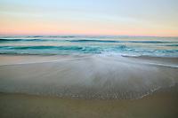Sand, surf, sky. Southampton, NY