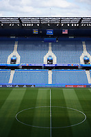 LE HAVRE, FRANCE - JUNE 20: Stade Océane during a 2019 FIFA Women's World Cup France group F match between the United States and Sweden at Stade Océane on June 20, 2019 in Le Havre, France.
