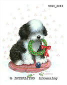 GIORDANO, CHRISTMAS ANIMALS, WEIHNACHTEN TIERE, NAVIDAD ANIMALES, paintings+++++,USGI2283,#XA# dogs,puppies