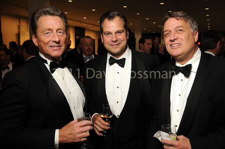 From left: Hal Pontez, Chico Korth and Marc Melcher at the One Great Night in November event at the Museum of Fine Arts Houston Wednesday Nov. 16,2011.(Dave Rossman/For the Chronicle)