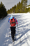 Christmas in Yellowstone - A Cross-Country Ski Holiday With My Teenage Daughter