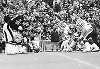 1976 Grey Cup, Ottawa Rough Riders, Saskatchewan Roughriders. Photo F. Scott Grant