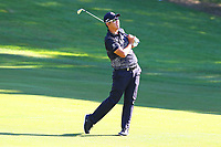 Byeong Hun An on the fairway driving onto #4 green during the BMW PGA Golf Championship at Wentworth Golf Course, Wentworth Drive, Virginia Water, England on 26 May 2017. Photo by Steve McCarthy/PRiME Media Images.