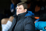 St Johnstone v Dundee….03.04.19   McDiarmid Park   SPFL<br />Saints boss Tommy Wright<br />Picture by Graeme Hart. <br />Copyright Perthshire Picture Agency<br />Tel: 01738 623350  Mobile: 07990 594431