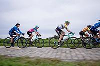 Sarah Roy (AUS/BikeExchange)<br /> <br /> Inaugural Paris-Roubaix Femmes 2021 (1.WWT)<br /> One day race from Denain to Roubaix (FRA)(116.4km)<br /> <br /> ©kramon