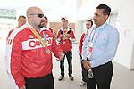 Tony Walby, Guadalajara 2011.<br /> Highlights from a VIP visit to the Athletes Village // Faits saillants d'une visite VIP au Village des athlètes. 11/18/2011.