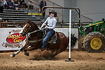 Payton Johnson during the first performance of Barrels and Pole Bending at the Junior World Finals. Photo by Andy Watson. Written permission must be obtained to use this photo in any manner.