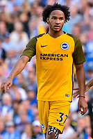 Izzy Brown of Brighton & Hove Albion (37) during the pre season friendly match between Brighton and Hove Albion and Atletico Madrid at the American Express Community Stadium, Brighton and Hove, England on 6 August 2017. Photo by Edward Thomas / PRiME Media Images.