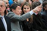 Princess Letizia of Spain attends the 'El Barco de Vapor' literature awards in presence of the President of the Madrid Region Jose Ignacio Gonzalez.April 9, 2013.(ALTERPHOTOS/Acero)