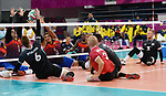 Mikael Bartholdy and Bryce Foster, Lima 2019 - Sitting Volleyball // Volleyball assis.<br />
