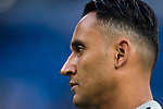 Goalkeeper Keylor Navas of Real Madrid looks on prior to the La Liga 2018-19 match between Real Madrid and CD Leganes at Estadio Santiago Bernabeu on September 01 2018 in Madrid, Spain. Photo by Diego Souto / Power Sport Images