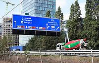 Nederland Amsterdam 2018. Verkeer op de ring bij de Zuidas. De A10. Foto Berlinda van Dam / Hollandse Hoogte