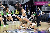 LAS VEGAS, NV - March 9, 2017: Oregon Ducks Men's Basketball team vs. the Arizona State Sun Devils. Final Score: Oregon Ducks 80, Arizona State Sun Devils 57