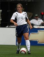 Cat Reddick (USA).US Women's National Team vs Brazil at Legion Field in Birmingham, Alabama.