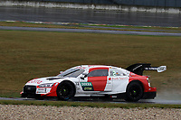 22nd August 2020, Lausitz Circuit, Klettwitz, Brandenburg, Germany. The Deutsche Tourenwagen Masters (DTM) race at Lausitz; Rene Rast GER Audi Sport Team Rosberg at the DTM round at the Lausitzring