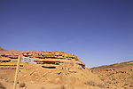 Wadi Adom in Ramon Crater