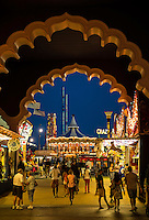 Entrance to the Steel Pier, Atlantic City, New Jersey, USA
