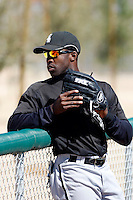 John Shelby Jr  -  Chicago White Sox - 2009 spring training.Photo by:  Bill Mitchell/Four Seam Images
