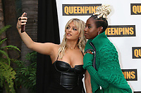 LOS ANGELES - AUG 25:  Bebe Rexha, Kirby Howell-Baptiste at the Queenpins Photocall at the Four Seasons Hotel Los Angeles on August 25, 2021 in Los Angeles, CA