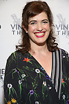 """Megan Hill attending the Opening Night Afterparty for The Vineyard Theatre production of  """"Do You Feel Anger?"""" at the Vineyard Theatre on April 2, 2019 in New York City."""
