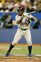 March 8, 2009:  Centerfielder Curtis Granderson (28) of Team USA during the first round of the World Baseball Classic at the Rogers Centre in Toronto, Ontario, Canada.  Team USA defeated Venezuela  15-6 to secure a spot in the second round of the tournament.  Photo by:  Mike Janes/Four Seam Images