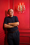 Author James Patterson photographed in the dining room of his Palm Beach, Florida home on January 27, 2006 for Time Magazine