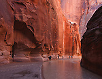 Backpacking through the Buckskin Gulch and Paria River slot canyons in Arizona and Utah