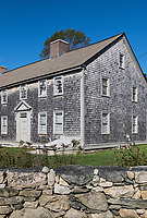 Historic Handy House, 1712, Westport, Massachusetts, USA.