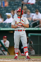 April 13, 2009:  Outfielder Charles Kingrey (21) of the Palm Beach Cardinals, Florida State League Class-A affiliate of the St. Louis Cardinals, during a game at Hammond Stadium in Fort Myers, FL.  Photo by:  Mike Janes/Four Seam Images