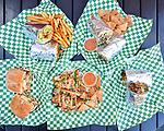 Chef's Truck San Francisco Menu Shoot.  Bay Area restaurant photography by Luke George 2019.