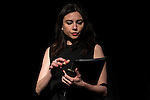 """Marta Flich during the theater play of """"Debate"""", the comeback to the teather of Toni Canto at Teatros del Canal in Madrid. May 03, 2016. (ALTERPHOTOS/Borja B.Hojas)"""