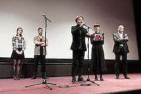 Kiyoshi KUROSAWA - Tahar RAHIM - Constance ROUSSEAU - Avant-premiere du film ' Le Secret de la Chambre Noire ' de Kiyoshi Kurosawa - La Cinematheque francaise 6 fevrier 2017 - Paris - France