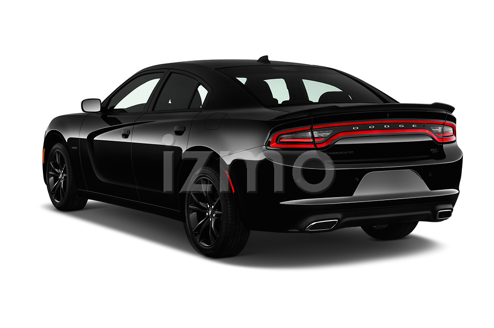 Car pictures of rear three quarter view of a 2017 Dodge Charger R/T 4 Door Sedan angular rear
