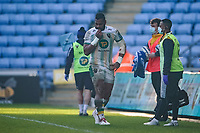 6th February 2021; Ricoh Arena, Coventry, West Midlands, England; English Premiership Rugby, Wasps versus Northampton Saints; Taqele Naiyaravoro of Northampton Saints gets a yellow card and is sent off in the 46th minute