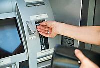ATM transaction.