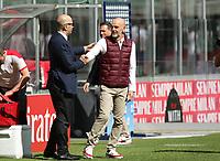 Milano 03-04-2021<br /> Stadio Giuseppe Meazza<br /> Serie A  Tim 2020/21<br /> Milan - Sampdoria<br /> Nella foto:  Stefano Pioli Allenatore Milan Ivan Gazidis                        <br /> Antonio Saia Kines Milano
