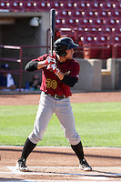 Quad Cities River Bandits infielder Nick Tanielu (30) at bat during a Midwest League game against the Wisconsin Timber Rattlers on July 17th, 2015 at Fox Cities Stadium in Appleton, Wisconsin. Quad Cities defeated Wisconsin 4-2. (Brad Krause/Four Seam Images)