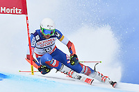 February 17, 2017: Ryan COCHRAN-SIEGLE (USA) competing in the men's giant slalom event at the FIS Alpine World Ski Championships at St Moritz, Switzerland. Photo Sydney Low