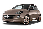 Low aggressive front three quarter view of a 2013 Opel Adam Glam Hatchback2013 Opel Adam Glam Hatchback