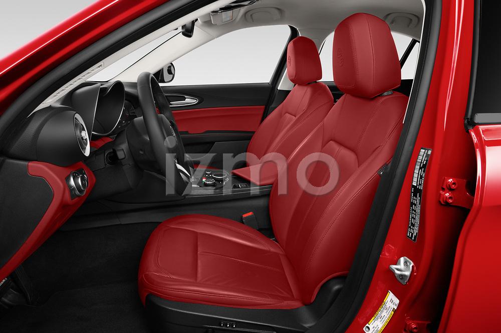 Front seat view of 2021 Alfaromeo Giulia - 4 Door Sedan Front Seat  car photos