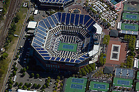 aerial photograph New York Tennis Center Queens, New York City