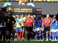 East Rutherford, NJ - Sunday June 12, 2016:  during a Copa America Centenario Group B match between Ecuador (ECU) and Haiti (HAI) at Met Life Stadium.