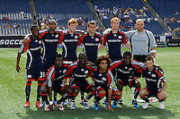 New England Revolution starting XI. The New England Revolution and the Kansas City Wizards played to a 0-0 tie during an MLS regular season match at Gillette Stadium in Foxborough, MA, on July 11, 2009.